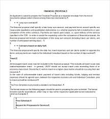 Sample Consultant Proposal Template. Sample Consultant Proposal ...