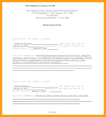 Free Doctors Excuse Template Image Collections Design Ideas Fake For