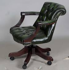 green leather office chair. Green Leather Office Chair S