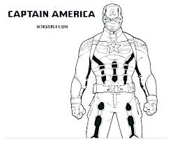 Captain America Coloring Pages Zupa Miljevcicom