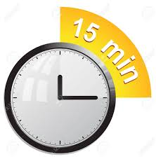 Fifteen Minutes Timer Clock Timer 15 Minutes Royalty Free Cliparts Vectors And Stock