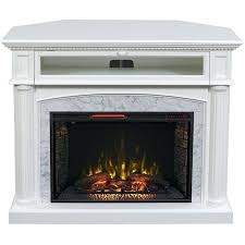 electric fireplace fireplaces heaters stand profile fake tv costco