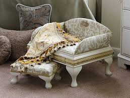 fancy pet furniture. Luxury Belgravia Pet Bed And Matching Stool Fancy Furniture
