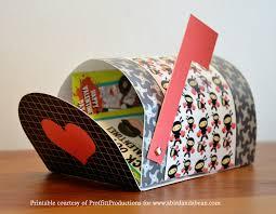 Free Printable Valentines Mailboxes