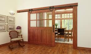 horseshoe barn door rail and hardware