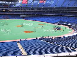 view seating charts toronto blue jays at rogers centre section 232 view