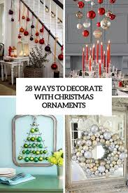 Ways To Decorate With Christmas Ornaments Cover