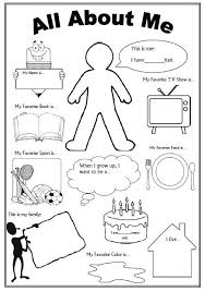 All About Me Worksheets Pdf All About Me Coloring Pages All About Me Coloring Pages