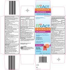 Rx Act Ibuprofen Childrens Suspension H E B
