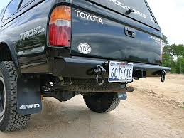 Rear Bumper with Integrated Receiver for 3rd Generation Tacoma ...