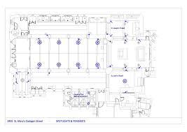 lighting scheme. Proposed Lighting Scheme Layout H
