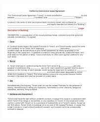 Commercial Property Rental Agreement Template Lease Pdf 7 – Narrafy ...