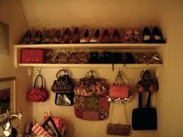 bag closet organizer organizing purses in closet closet ideas decoration with gorgeous shoe and purse closet