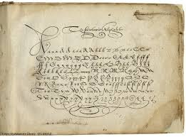 the secretarie alphabete from jehan de beau chesne and john baildon a