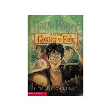 harry potter and the goblet of fire hard cover book