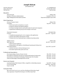 Should Resumes Be One Page Efficient Gallery A Resume New Format