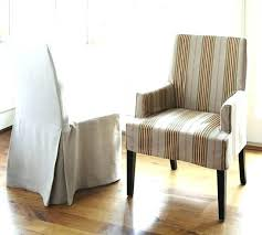 Dining Chairs Long Dining Chair Slipcovers Dining Room Chair