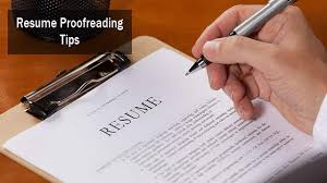 Avoid Resume Mistakes With These Proofreading Tips Nexgoal