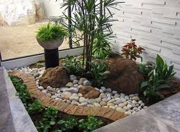 Great Landscaping Ideas With Rocks Creating Beautiful Garden With Rock  Garden Ideas Rhubarb Decor