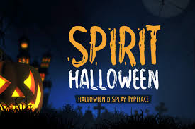 On our site you can download halloween font free. Spirit Halloween Font By Shattered Notion Creative Fabrica In 2020 Halloween Fonts Free Halloween Fonts Spirit Halloween