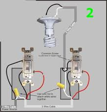 wiring two switches to one light fixture fixtures