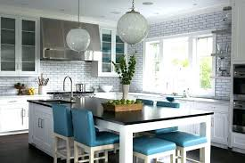 kitchen island with stools ikea kitchen island dining room table hybrid long blue leather counter stools