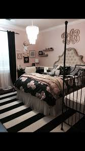Exciting Teenage Girl Bedroom Themes For Modern Home Design: Teenage Girl  Bedroom Themes With Black