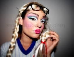 y barbie doll makeup tutorial