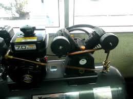 compresor de aire de gasolina. 7hp compresor motor a gasolina 7 hp, tanque 235 lt. piisamexico - youtube compresor de aire gasolina 0