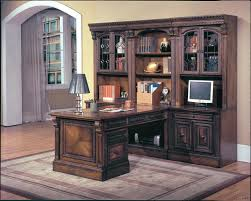 Parker House Huntington 9 Piece Library Wall and Peninsula Desk