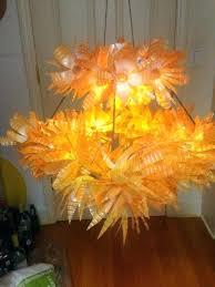 plastic bottle chandelier recycled water bottle chandelier best fun lights and lighting images on chandelier plastic