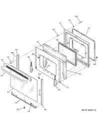 parts for ge jbp68dm2ww range appliancepartspros com 04 door parts for ge range jbp68dm2ww from appliancepartspros com
