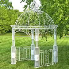 zina large round garden gazebo