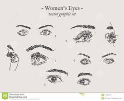eyes drawings vector eyes drawings set stock vector illustration of eyeball