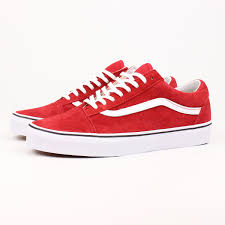 vans red and white. vans red and white
