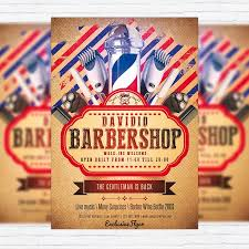 barber flyer barber flyer templates free download 13 best barbershop images on