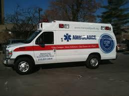 Menorah Rehabilitation Penn Care Delivers A Medix Silverhawk Ambulance To The