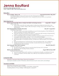 College Student Resume Resume Templates