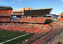 Cleveland Browns Stadium Seating Chart View Firstenergy Stadium Wikipedia