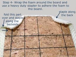 diy upholstered headboard step 4