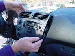 honda civic factory stereo removal