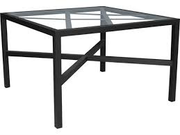 castelle barclay butera palm springs aluminum 44 wide square dining table pfb9sd44