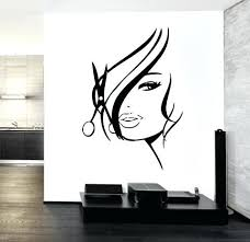 salon wall decals wall decal hair salon barber hair unique gift tanning salon wall decals