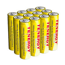 tenergy solla rechargeable nimh aa
