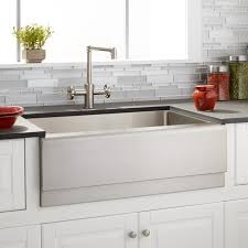 27 optimum stainless steel farmhouse sink beveled a