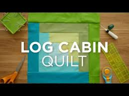 Make an Easy Log Cabin Quilt Block! Quilt Snips - YouTube & Make an Easy Log Cabin Quilt Block! Quilt Snips Adamdwight.com