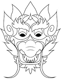a7c9a9b0d81d668456eca28e397221e2 dragon mask simple and easy dragon crafts made from paper on happy face mask template