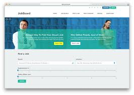 Small Picture Top 10 HTML5 Job Board Websites Templates 2016 Colorlib