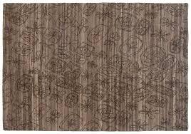 5x7 modern grey oriental rug 046920