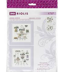 riolis 6 u0027 u0027x6 u0027 u0027 18 count counted cross stitch